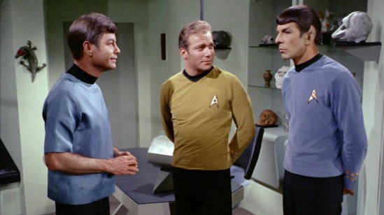 Bones, Kirk and Spock